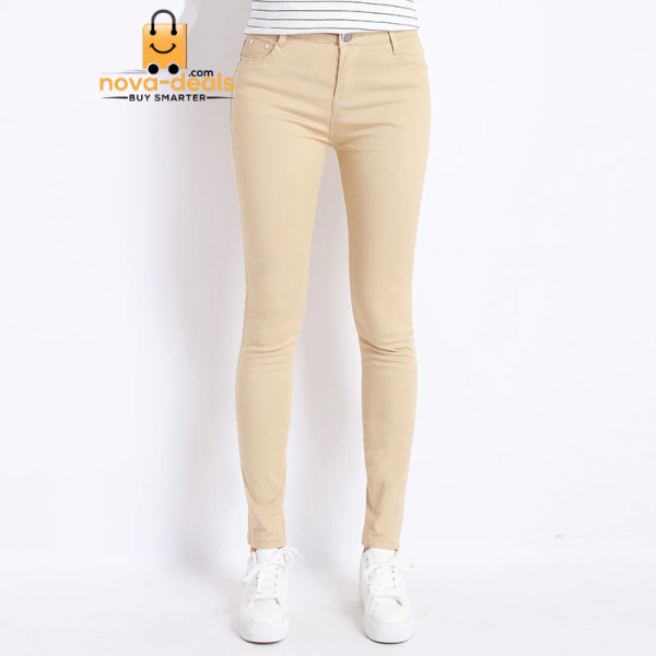Jeans Female Denim Pants Candy Color Womens Jeans Donna Stretch Bottoms Feminino Skinny Pants For Women Trousers 2019 Tataria 3