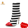 Striped Boots for Women - 12 Sizes