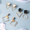 Round and Triangle Earrings - 29 Style 1