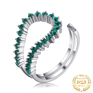 Women's Fashion Ring - Color Trends - Forest Biome