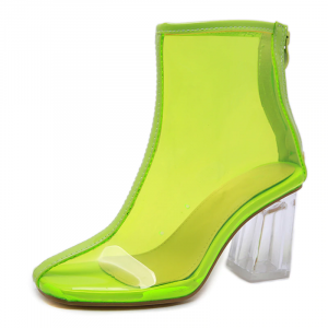 Fashion Boots Chartreuse