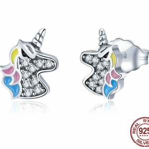 Stud Earrings - Unicorn
