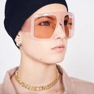Jaw-dropping Large Sunglasses 7 Colors - Unisex